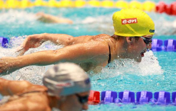Stina Gardell, bara sekunden över det svenska rekordet