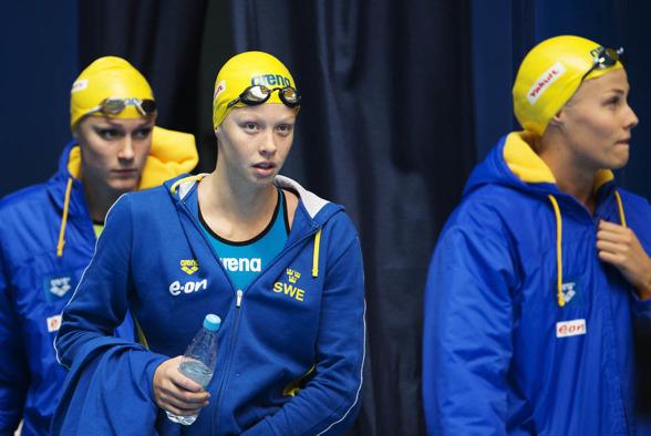 Svenska laget blev fyror i försöken i lagkappen