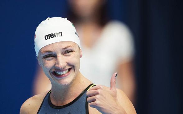 Katinka Hosszu slog Europarekord på 200m medley