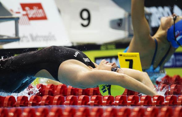 Ida Lindborg vidare till semifinal på 200m ryggsim