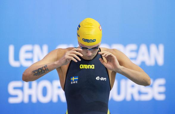 Sarah Sjöström vidare på 50m fjäril och 100m fritt i dagens försökstävlingar
