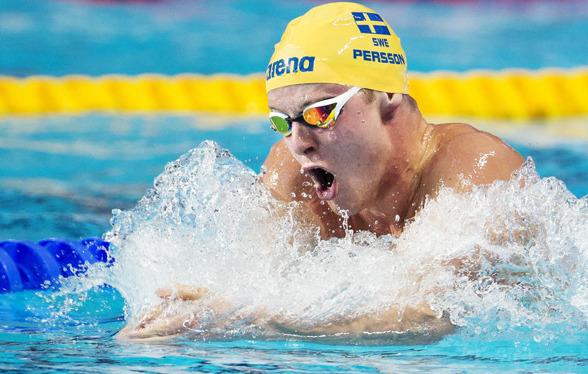 Svenskt Rekord av Erik Persson på 200m bröstsim