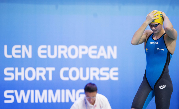 Sophie Hansson gick till final på 50m bröstsim !!!!