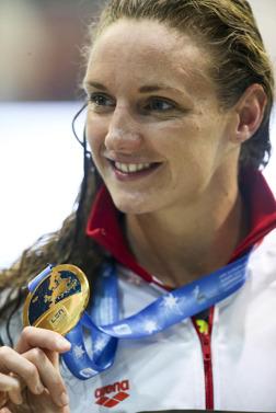 Katinka Hosszu simmade hem guldet på 400m medley och ett världsrekord.