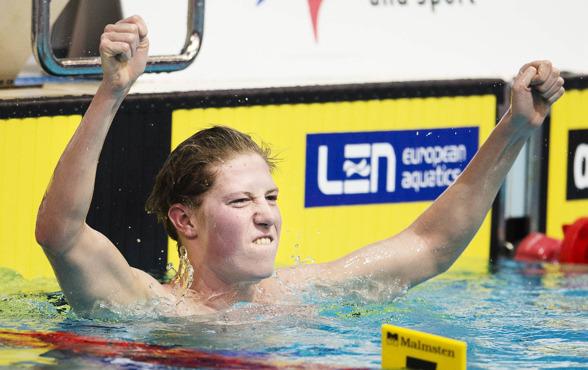 Henrik Christensen slog Nordiskt Rekord på 1500m fritt