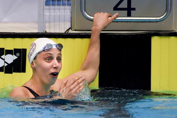 UNder 1.05 för första gången när Jennie Johansson slog svenskt rekord med 1.04.94.