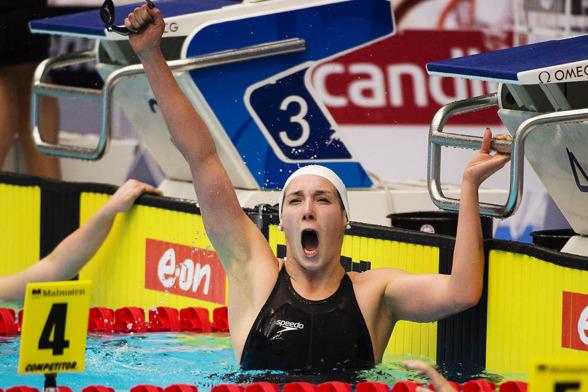 Laura Lajunen Neptun vann damernas 800m fritt
