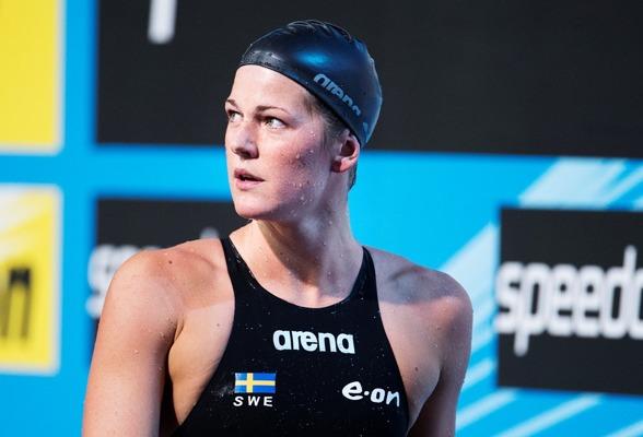 Stina Gardell blev neslig 17:e tjej på 200m medley i försöken.