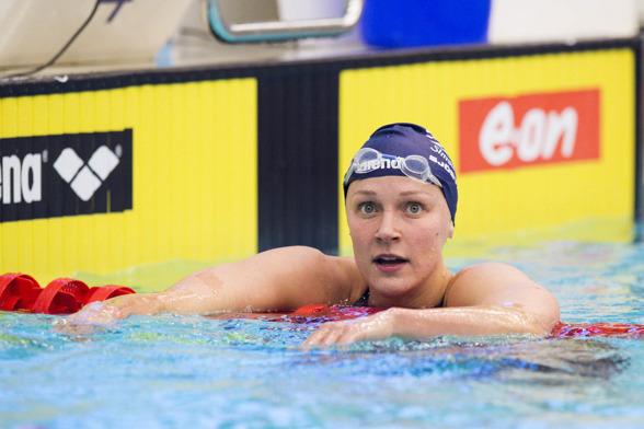 Sarah Sjöström vann 400m fritt.