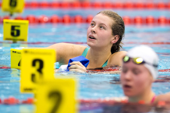 Sophie Hansson vann JSM-guldet på 200m bröstsim - också!