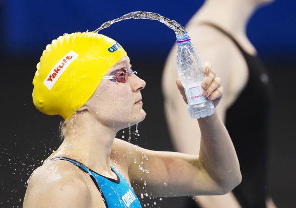 """Ett nytt sätt att """"ta sig vatten över huvudet"""" - a la Sarah Sjöström"""