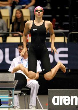 Yulia Efimova slog världsrekord på 200m bröstsim idag.
