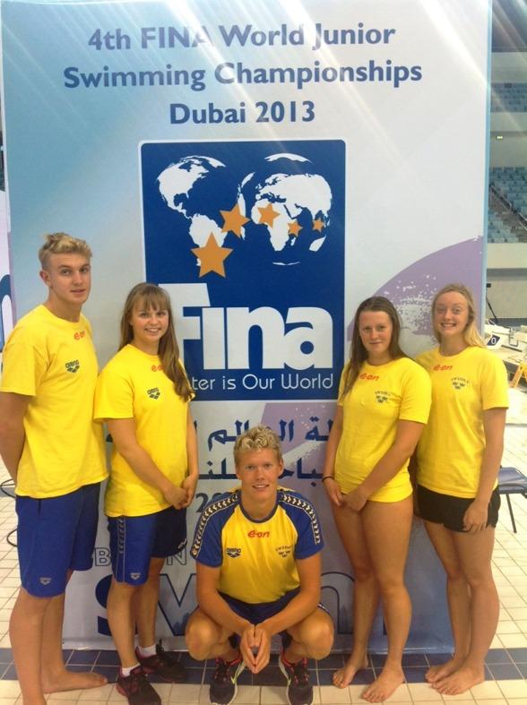Svenska simlaget i Dubai