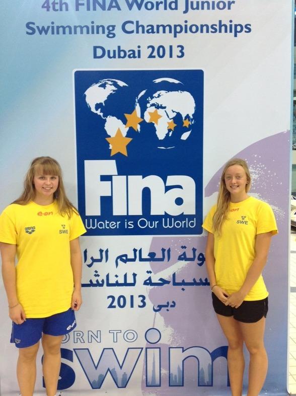Kvällens semifinalister - Agnes Wiiand och Jessica Billquist
