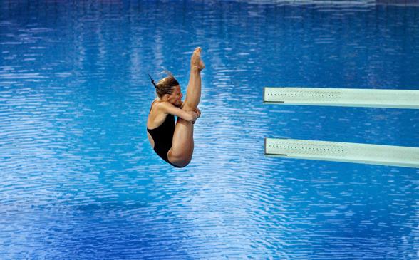 Anna Lindberg har förmodligen svenskt rekord i SM-guld, 73 stycken är de och hon har även högst poängnotering på 3m.
