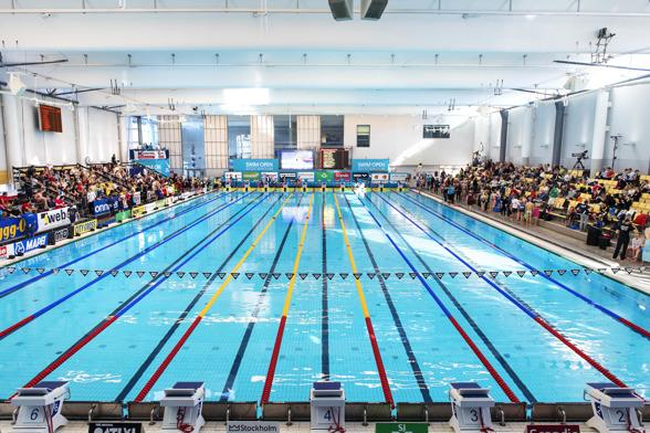 Swim Open Stockholm:  Simarenan Eriksdalsbadet klar för Swim Open