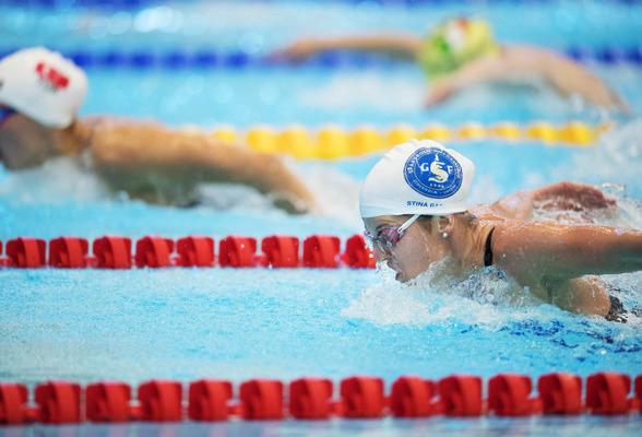 Stina Gardell blev tvåa på 400m medley - segrainnan Gunes från Turkiet slog nationsrekord med över 10 sekunder