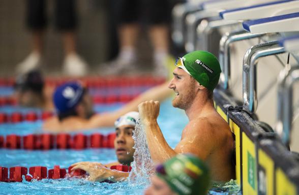 Cameron van der Burh simmade världsårsbästa på 50m bröstsim
