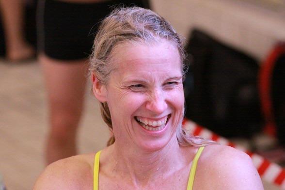 Annette Philipsson, LASS satte det första rekordet på Masters-SM