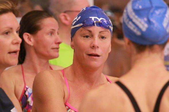 Emma Igelström, Kungsbacka gjorde Masters-debut på SM och vann i klassen 35-39 år.