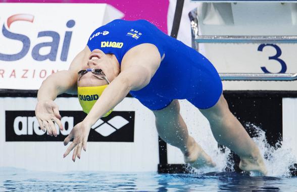 Ida Lindborg vidare till semifinalen på 50m ryggsim
