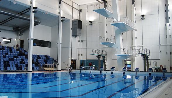 Högevallsbadet i Lund agerar arena åt plattformstävlingarna under 2016-års sommar-SM den 17 juni.