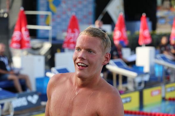 Adam Paulsson vann 1500m fritt