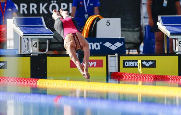 Dagens toppresultat nåddes av Sarah Sjöström på 50m fritt damer