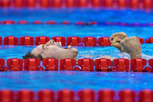 Hagino svarade upp mot favoritskapet på 400m medley och vann