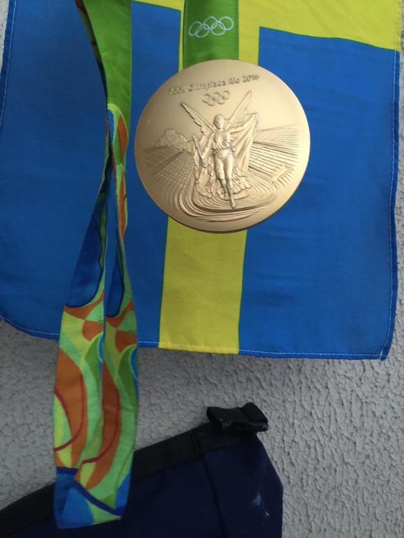 Sarahs OS-guld - foto: Christer Magnusson