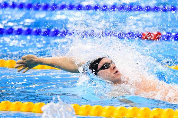 Ryan Murphy vann 100m ryggsim herrar