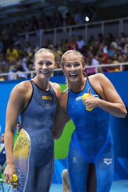 Två svenskor i dagens final på 200m fritt