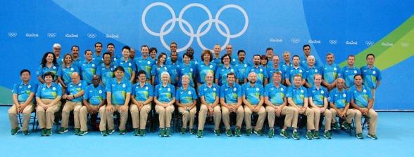 Funktionärerna på OS. Klicka på bilden så blir den stor !!!