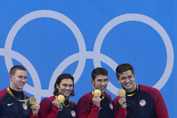 USa vann guld också i herrlagkappen.