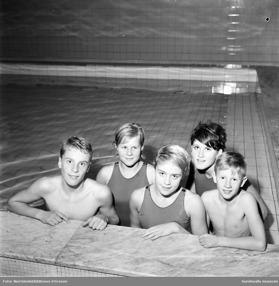 Sum-Simmare i Timrå 1963. Foto: Sundsvalls digitala museum