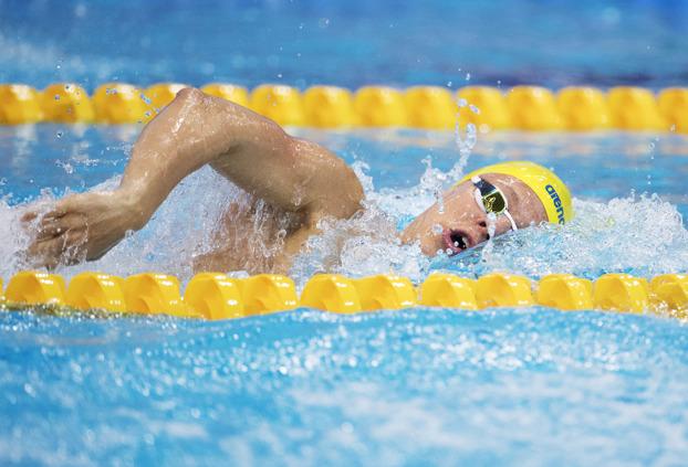 Svenskt Juniorrekord med hela tre sekunder av Victor Johansson på 400m fritt