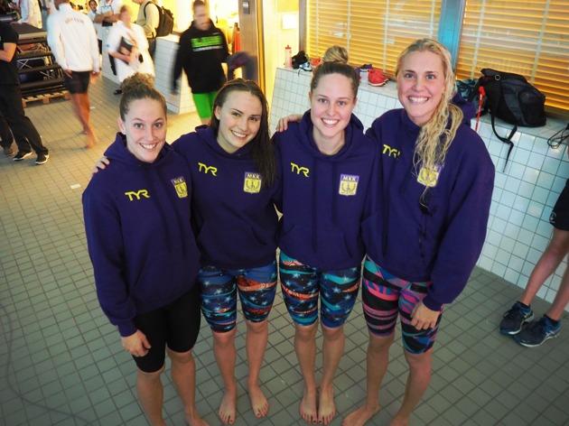 Ida, Alba, Emma och Nathalie - Malmös första sedan 1999