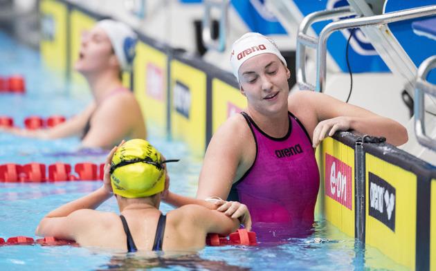 XChristine Ekman vann 1500m fritt
