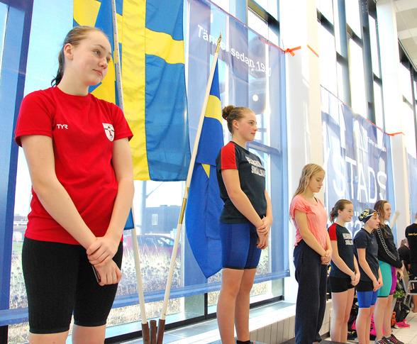 Ystad - Gren 8 - Hannah Olsson Lindhé, Tyra Littorin, Alicia Johansson, Alice Persson, Saga Nyborg, Astrid Nilsson