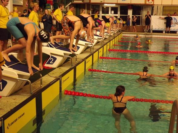 Jönköping - strat 100m fritt