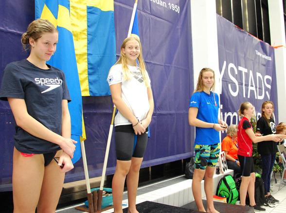 Ystad- prispallen - Alicia Lundblad, Hanna Bergman, Stina Lindberg, Simone Karlssson, Isabella Revstedt