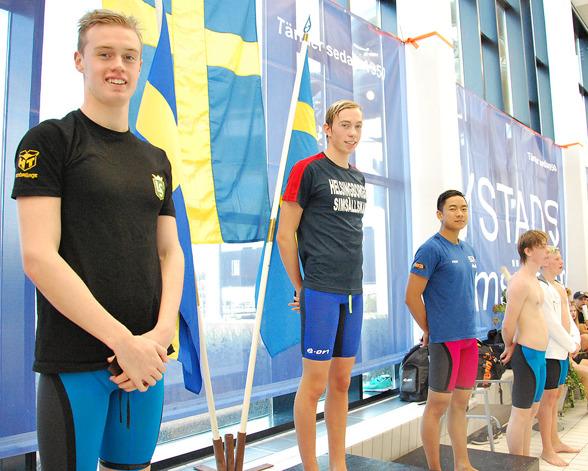 Ystad - prispallen bestod av Emil Hassling, Gustav Persson, Philip Chen, Albin Edvardsson, Victor Bergstrand