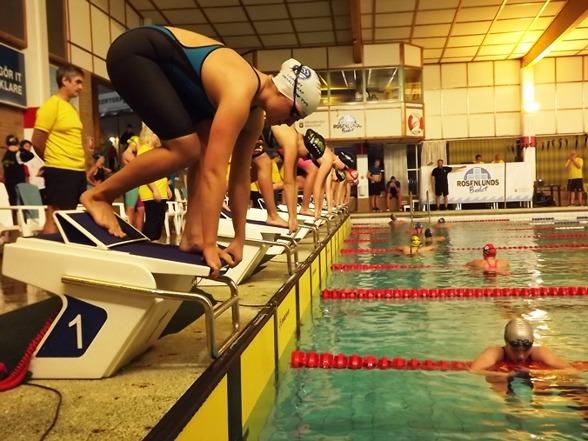 Jönköping - starten på 100m fritt