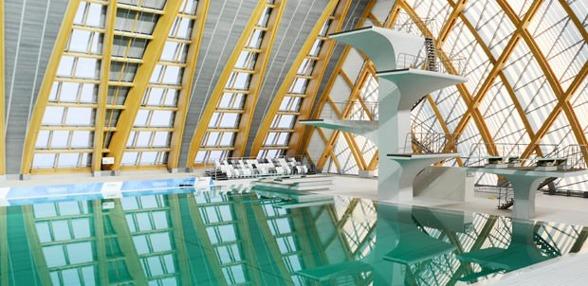 Junior VM 2016 hålls i Kazan Aquatics Palace. där även VM i simhopp hölls 2015.