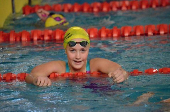 Annie Hegmegi vann 200m medley