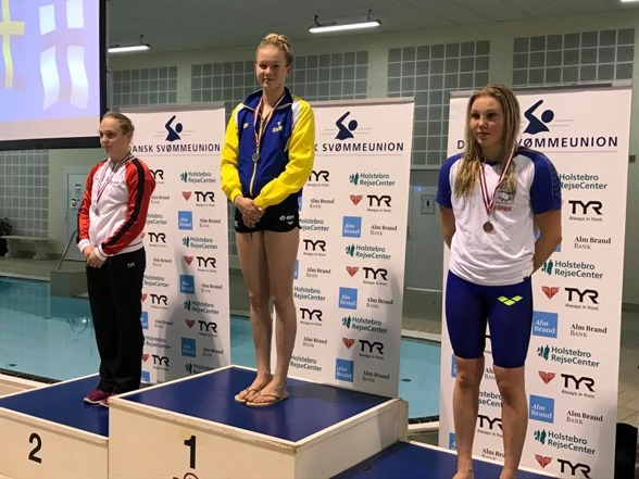 Hannah Brunzell vann juniorklassen