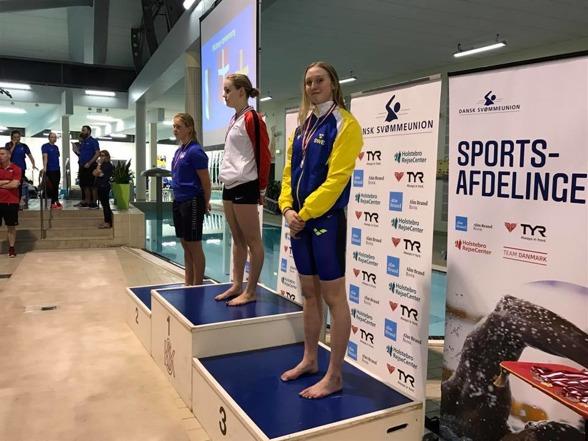 Wilma Johansson - silver på 200m medley