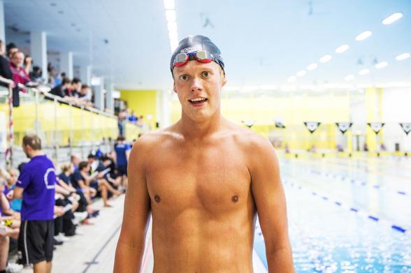 Adam Paulsson segrare på 400m medley