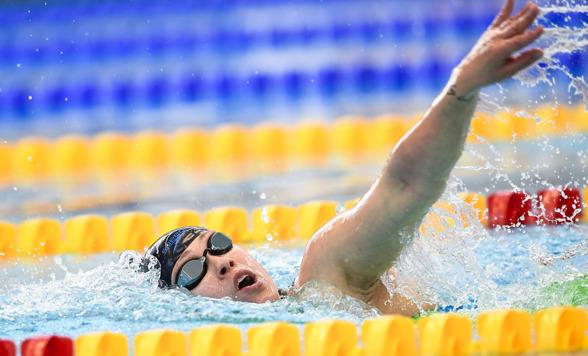 Sarah Köhler - segrare på 400m fritt