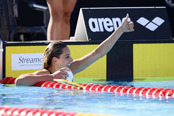 Jennie Johansson åttonde raka på 50m bröstsim